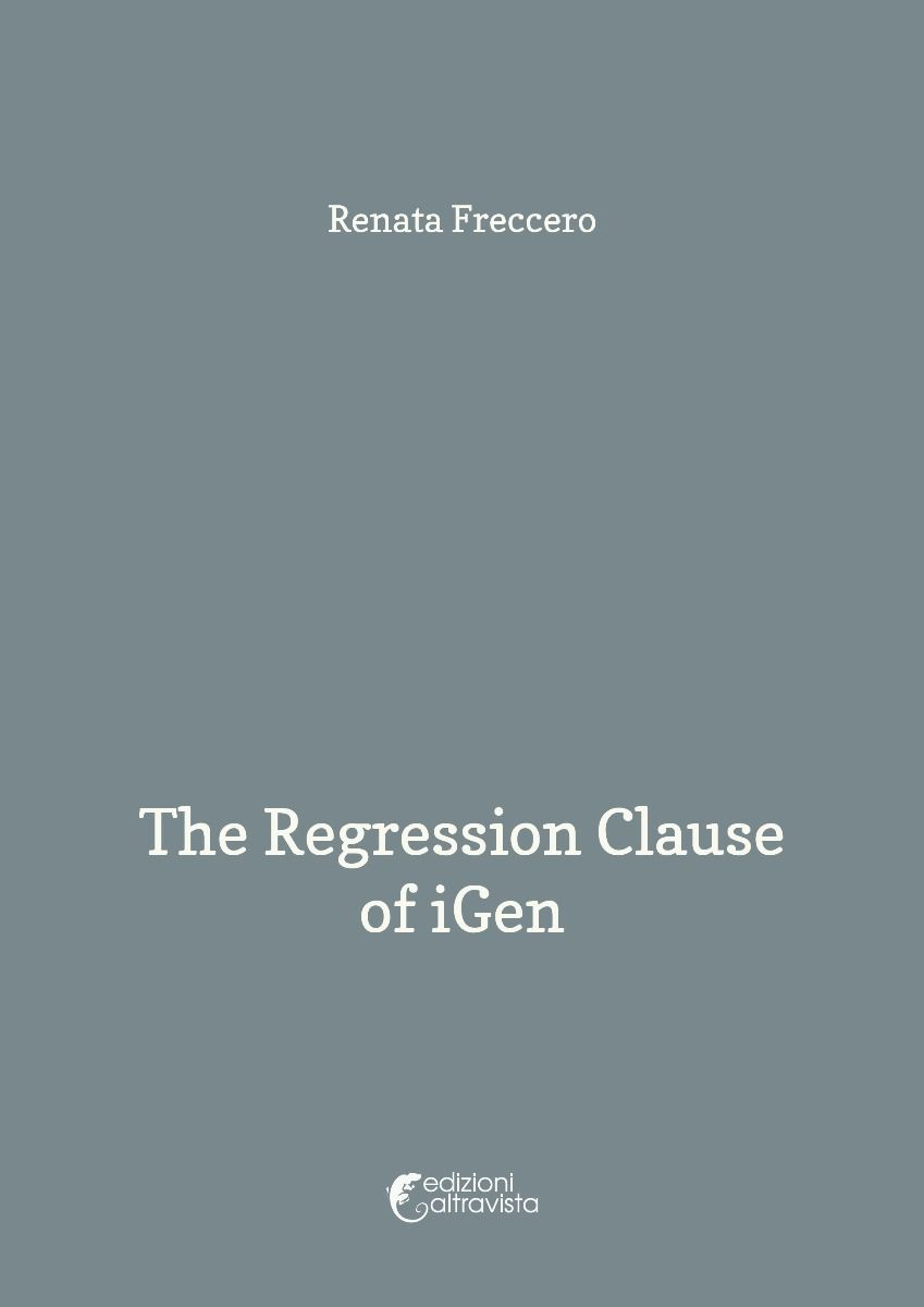The Regression Clause of iGen - eBook